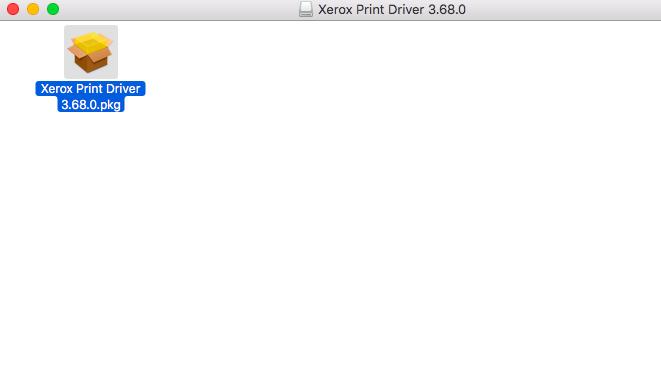 Mac OS X pkg